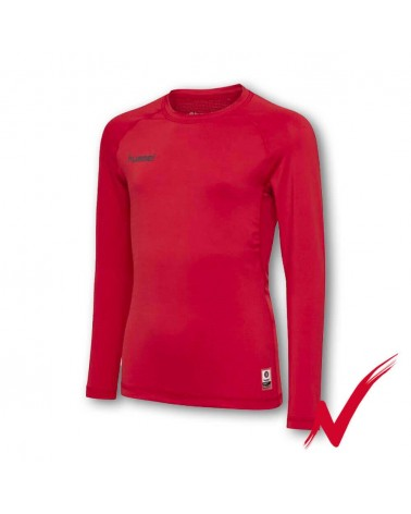 Red Thermal Long Sleeve T-Shirt gimnasticdetarragona.com