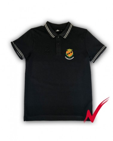 Black Polo Shirt For a Walk gimnasticdetarragona.shop