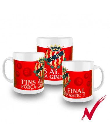 Cup Up to the End Red Color gimnasticdetarragona.shop