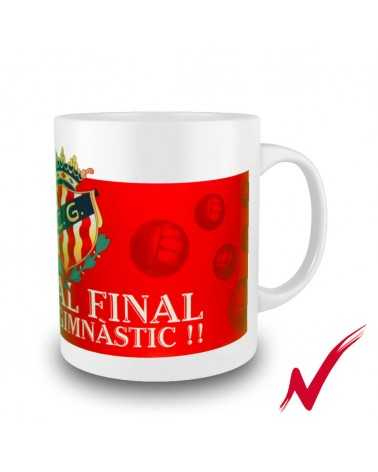 Taza Fins al Final Color Rojo gimnasticdetarragona.shop