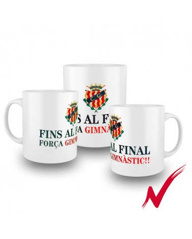 Cup To the End White Color gimnasticdetarragona.shop