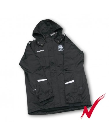Raincoat Training Black Temp 17/18 gimnasticdetarragona.shop